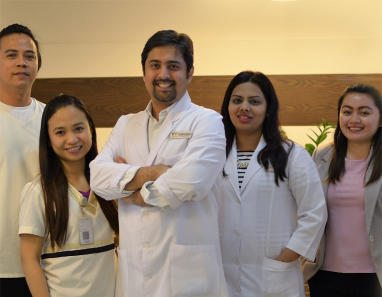 Group Photo of Precision Dental Clinic Dentists